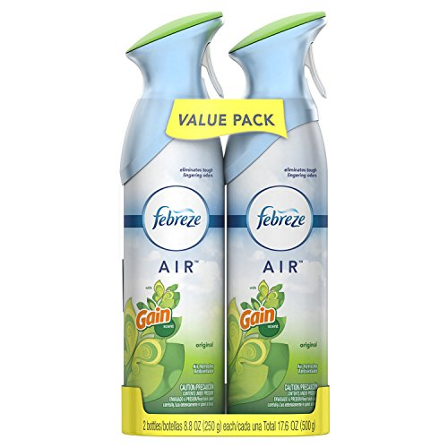 Febreze AIR Freshener with Gain Original Scent, 8.8 Ounce, 2 pack