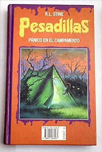 PESADILLAS - Edición Monstruo 3 - INVISIBLES - TERROR EN LA BIBLIOTECA - PÁNICO EN EL CAMPAMENTO: Amazon.es: Stine, R. L.: Libros