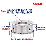 5M 40T Timing Belt Pulley Gear Synchronous Wheel