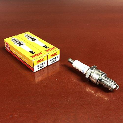 - NGK Standard Spark Plugs - Stock #6578 - BPR4ES - Solid Tip - Pack of (2)