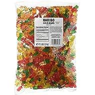 Haribo Goldbears Gummi Candy, Original Flavor, 5-Pound Bag