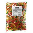 Haribo Gold-Bears Original Flavor Gummi Candy, 5-Pound Bag.  Packaging varies between Clear or Gold bag
