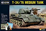 Warlord Games Wgb-ri-501, Soviet T34/76, Bolt Action Wargaming Model