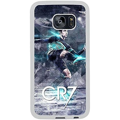 Generic S7 Edge TPU Case,Cristiano Ronaldo White Phone Case For Samsung Galaxy S7 Edge Sales