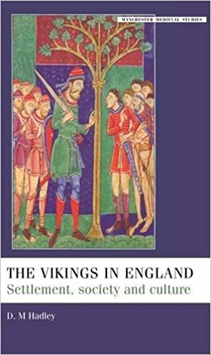 The Vikings in England: Settlement, Society and Culture (Manchester Medieval Studies) by Dawn Hadley (2007-05-15)