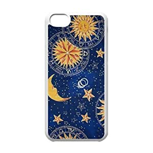 Sun Moon Pattern Original New Print DIY Phone Case for Iphone 5C,personalized case cover ygtg543221