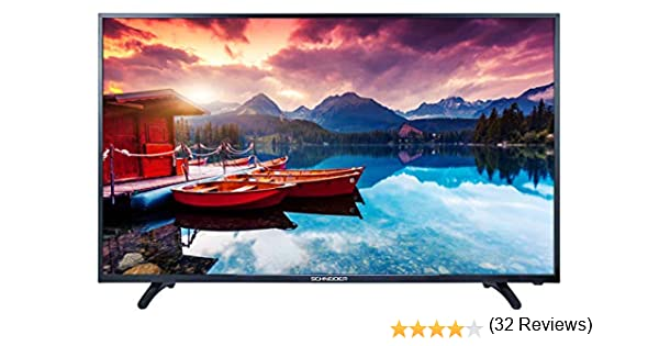 SCHNEIDER Consumer TV LED 32 HD USB PVR Negro - Televisor (81,3 ...