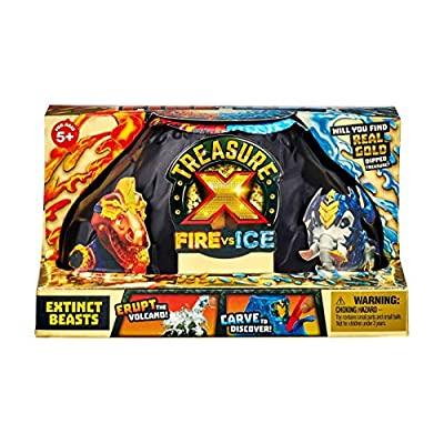 TREASURE X Fire vs Ice Extinct Beasts Pack Single Pack-Styles Vary: Toys & Games