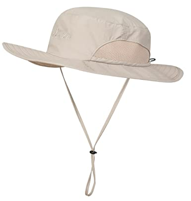 f08a41531 Lenikis Outdoor Bucket Boonie UV Protecting Sun Hat
