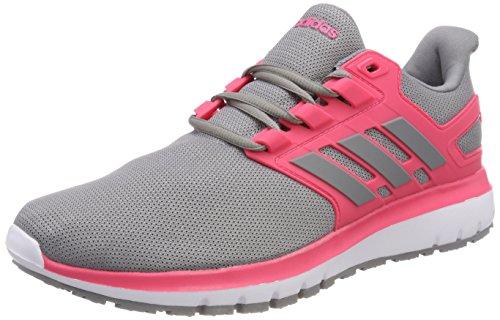 Adidas Ladies Energy Cloud 2 Scarpe Da Corsa Grigie (grigio Tre F17 / Reale Rosa S18)