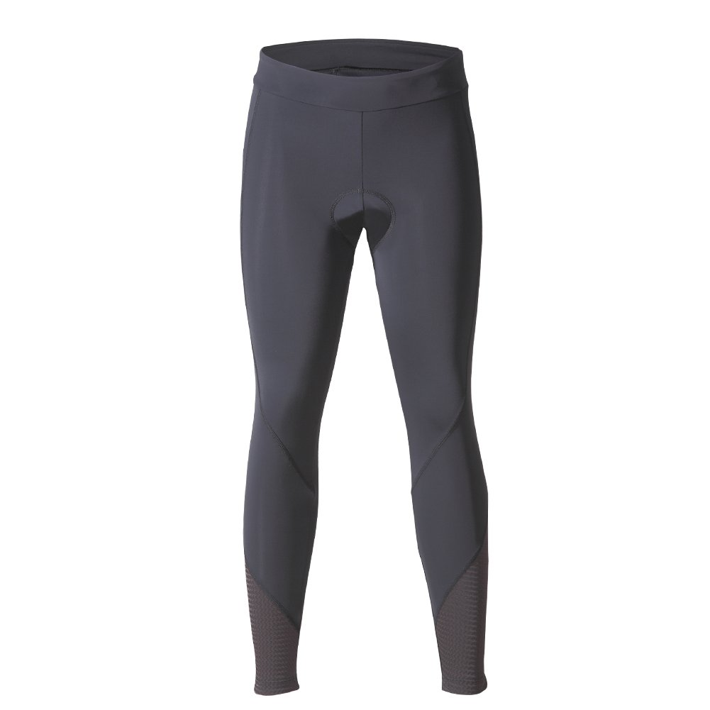 beroy Women 3D Padded Cycling Pants with Adjust Drawstring,Ladies Compression Tights Bike Pants(L Black) by beroy (Image #2)