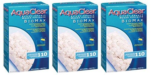 Aquaclear 110-gallon Biomax (3 Pack)