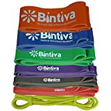 Assisted Pull Up Bands, Resistance, Stretch, and Powerlifting Exercise Loop Bands for fitness, Crossfit, Therapy, Chin Ups; and Muscle Toning and Strengthening For Sale