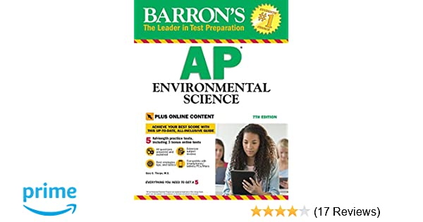 Barron S AP Environmental Science With Online