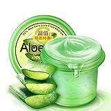 Moisturizing Gel Makeup Oil 120g Aloe Vera Smoothing & Moisture Aloe Vera 90% Gel After-Sun Repair and Acne Treatment