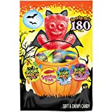 SOUR PATCH KIDS & SWEDISH FISH Halloween Candy Variety Pack, 180 Trick or Treat Size Packs