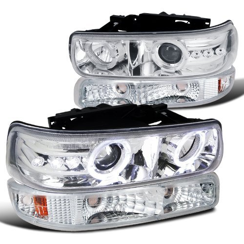 02 tahoe chrome headlights - 9