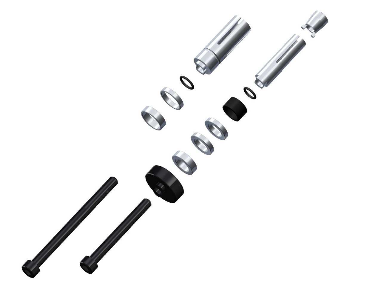 rizoma LP200B Adapter for Install Proguard rizoma on Handlebars Hole Diameter 13 –  21 mm, 1 Adapter 1Adapter