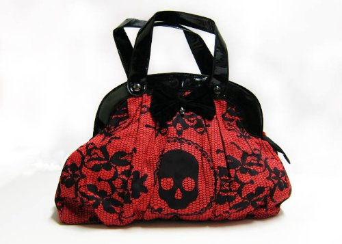 Iron Fist Lacey Days Handbag Red, Bags Central