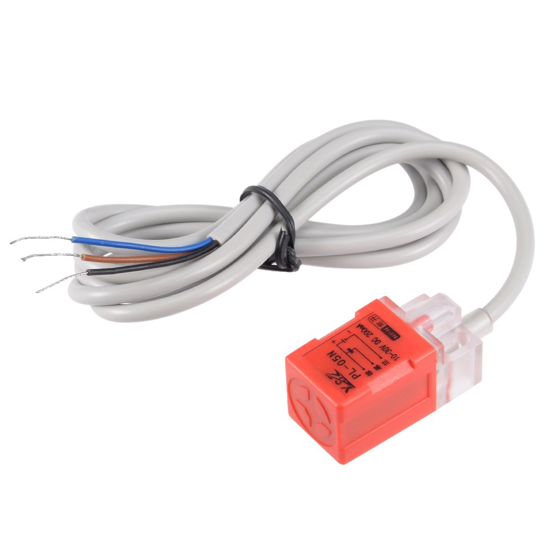 Uxcell 5mm Inductive Proximity Sensor Switch Detector Npn No Dc 10 3 Wire Wiring Diagram 30v 200ma Pl 05n Industrial Scientific