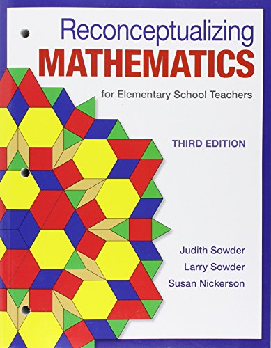 1464193339 - Reconceptualizing Mathematics: for Elementary  School Teachers