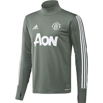 adidas Manchester United FC Sudadera de Entrenamiento, Hombre: Amazon.es: Deportes y aire libre