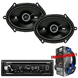 Package Kenwood KDC-BT21 Bluetooth In-Dash CD/AM/FM Car Stereo Receiver + ...