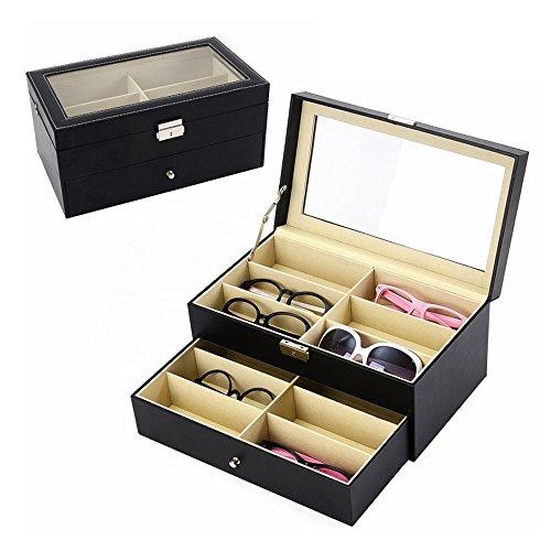 IOKHEIRA Eyewear & Sunglasses Display Case Box - Sunglasses Vuitton Louis Case