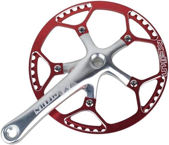 Toygogo Plato Bicicleta Montaña Plato Aluminio Monoplato 45T/47T ...