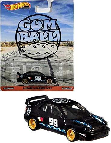 [해외]Hot Wheels 껌 볼 부오 프리미엄 사바루 임프레자 WRX 블랙 / Hot Wheels Gum Ball Booo Premium Sabaru Impreza WRX, Black