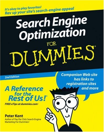 Download Search Engine Optimization For Dummies, Second Edition (For Dummies (Computer/Tech)) ebook