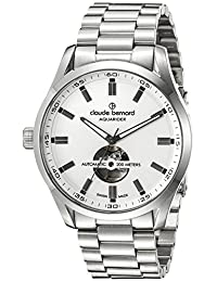 Claude Bernard Men's 85026 3M AIN Aquarider Analog Display Swiss Automatic Silver Watch
