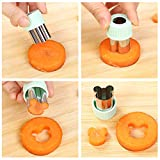 Vegetable Cutter Shapes Set Mini Sizes Cookie