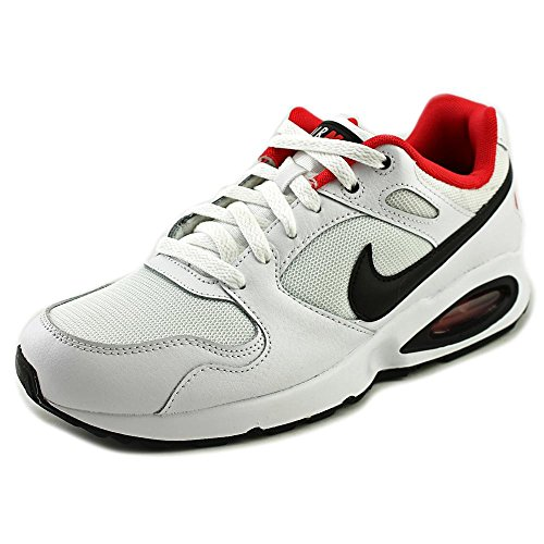 Nike Mens Air Max Coliseum Racer Running Shoes-White/Black/University Red-11