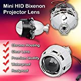 "Zone Tech 2.5"" Mini HID Bixenon Projector Lens"