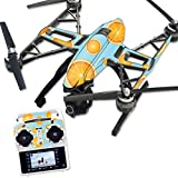 MightySkins Protective Vinyl Skin Decal for Yuneec Q500 & Q500+ Quadcopter Drone wrap cover sticker skins Orange Slices