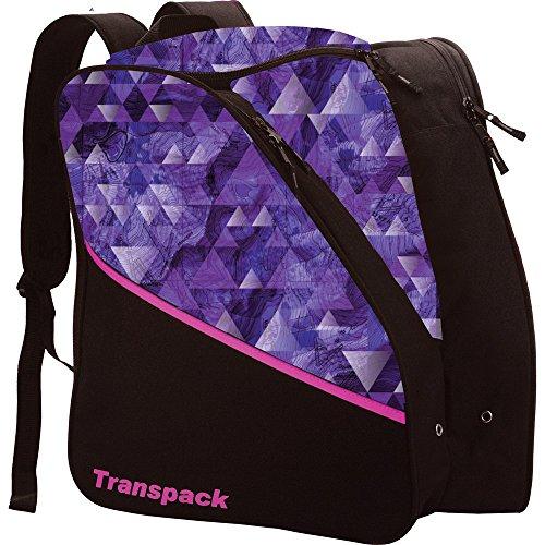 (Transpack Edge Junior Ski Boot Bag 2018 - Purple)