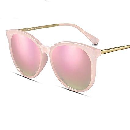 Gafas de sol MinegRong Mujer 2018 Nueva cara redonda Gafas ...