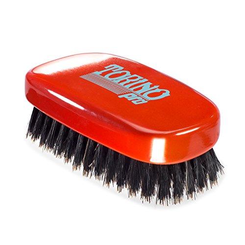 Torino Pro Wave Brush #760 By Brush King - 11 Row Medium 360 Waves Palm Brush by Torino Pro (Image #3)