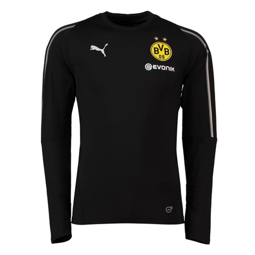 Puma 2018-2019 Borussia Dortmund Training Sweat Top (schwarz)