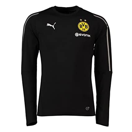 Image Unavailable. Image not available for. Color  PUMA 2018-2019 Borussia  Dortmund Training Sweat Top ... 4066b2291
