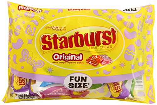Starburst Original Fun Size Candy, Easter Mix, 7.3 Ounce Bag