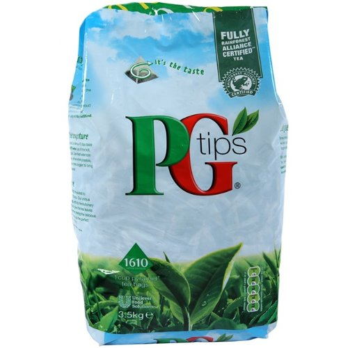 PG Tips Tea Bags, 1610 x 1 Cup Pyramid Tea Bags (2 Packs) by PG Tips