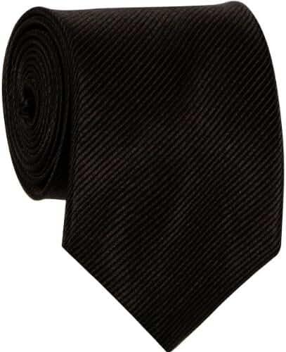 Mens Solid Neck Tie