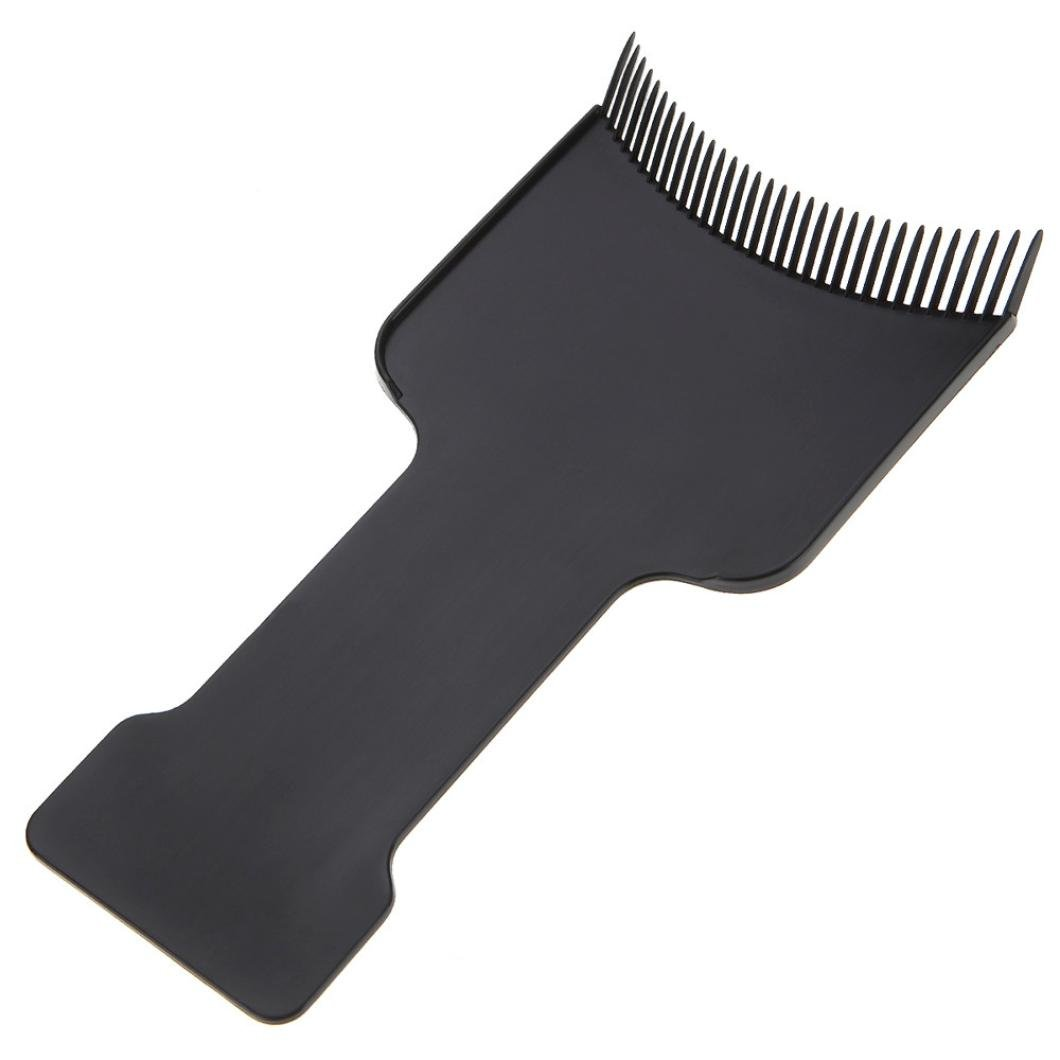 Hair Coloring Balayage Board, Inkach Professional Hairdressing Pick Color Board Tool (Black)