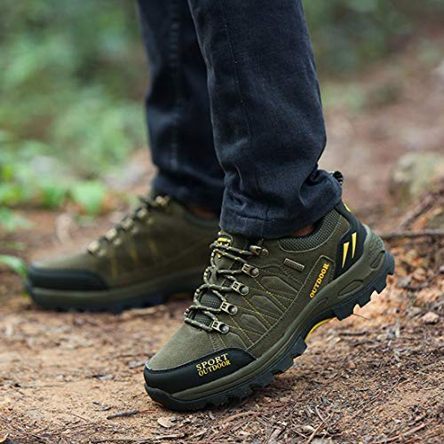 Boot Hiking Men Water Jiyaru Green Repellent Shoes Outdoor a7nwYq