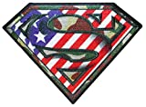 Camouflage Superman Logo