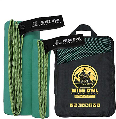 Wise Owl Outfitters Camping Towel & Gym Towel