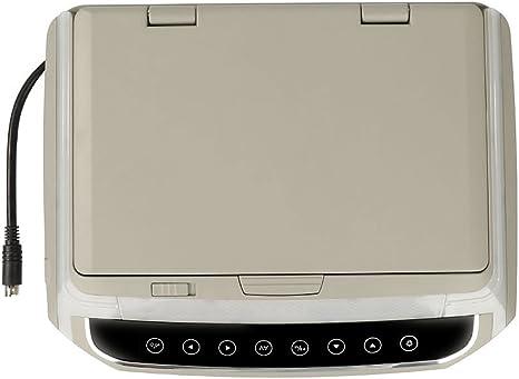 Springdoit Pantalla de visualizaci/ón del Coche HD de 10 Pulgadas LED Reproductor de Audio electr/ónica del Coche de Pantalla t/áctil de instalaci/ón LCD