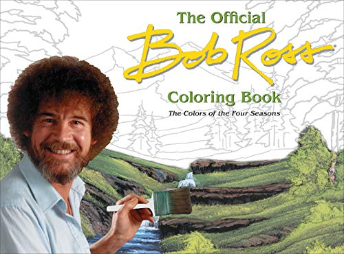 Bob Ross Coloring Book - Four Seasons
